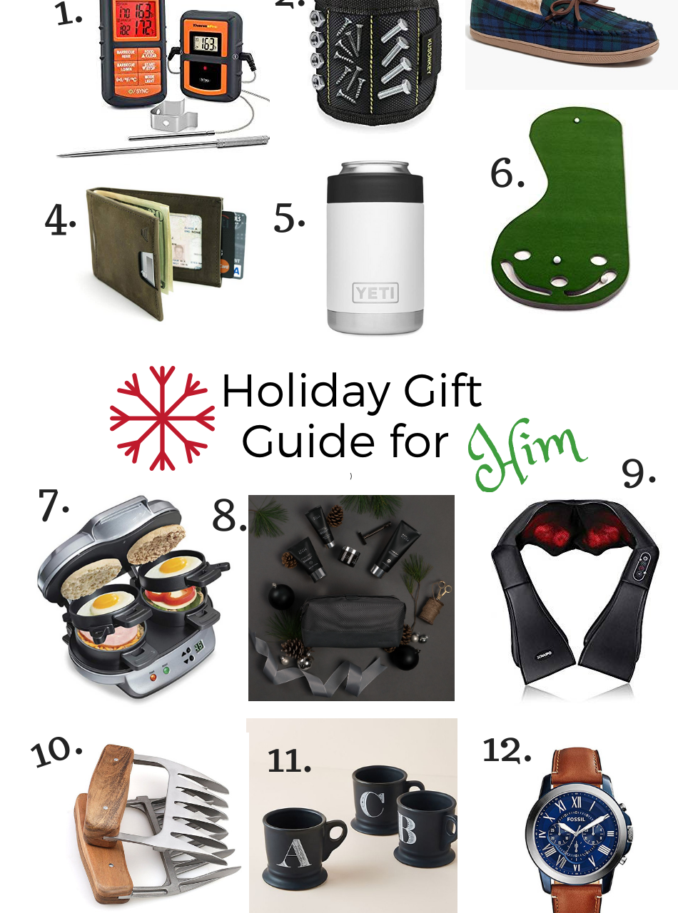 GIFT IDEAS FOR HIM AND STOCKING STUFFERS
