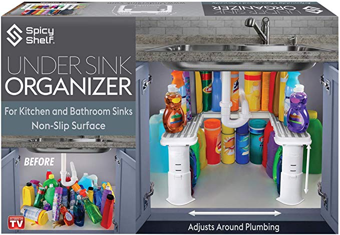Screenshot_2020-01-21 Amazon com Expandable Under Sink Organizer and Storage Bathroom Under the Sink Organizer Kitchen Unde[...]