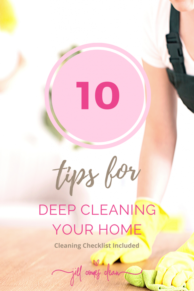 Tips for deep cleaning your home
