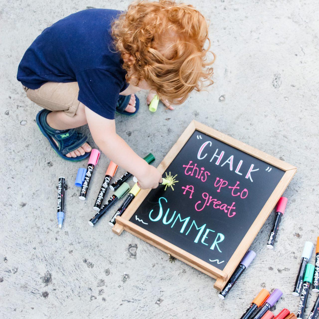 KID FRIENDLY, SUMMER FUN WITH CHALKOLA
