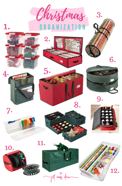 How to Organize Christmas Decorations